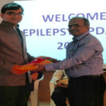 Dr. Sandeep at Epilepsy Conference